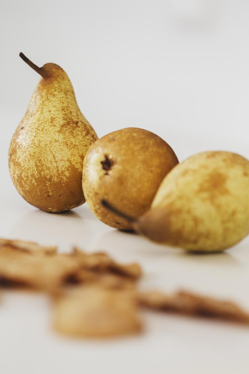 Receita Saudável de Granola de Pêra & Gengibre