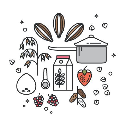 Energy Boosting Cacao Oatmeal, a healthy and vegan porridge recipe
