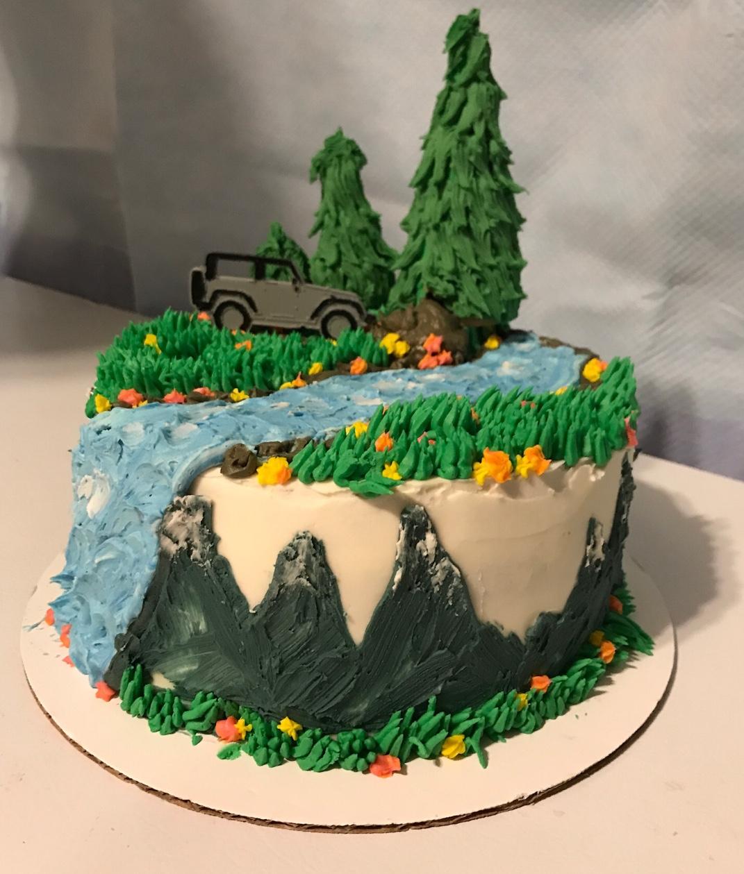 More Cakes Autumn And Orange