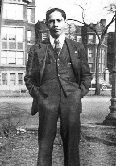 Emanuel Hurst Sr., Art Taylor's grandfather and a Pullman porter, 1942-1968.