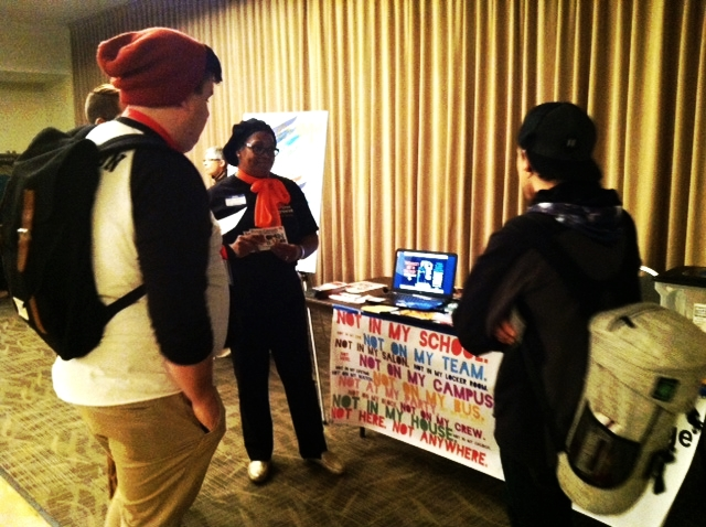 NIOT:BN was on hand for an historic regional LGBT conference at ISU in February 2015.