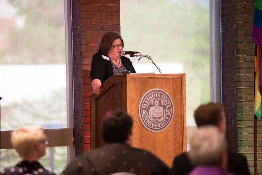 Barb Dallinger (Photos by ISU)