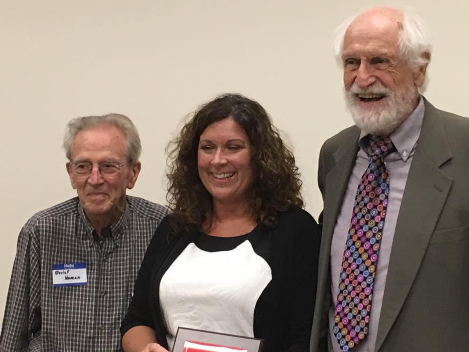 Joseph L. Grabill, right, Becker, and Gerlof D. Homan