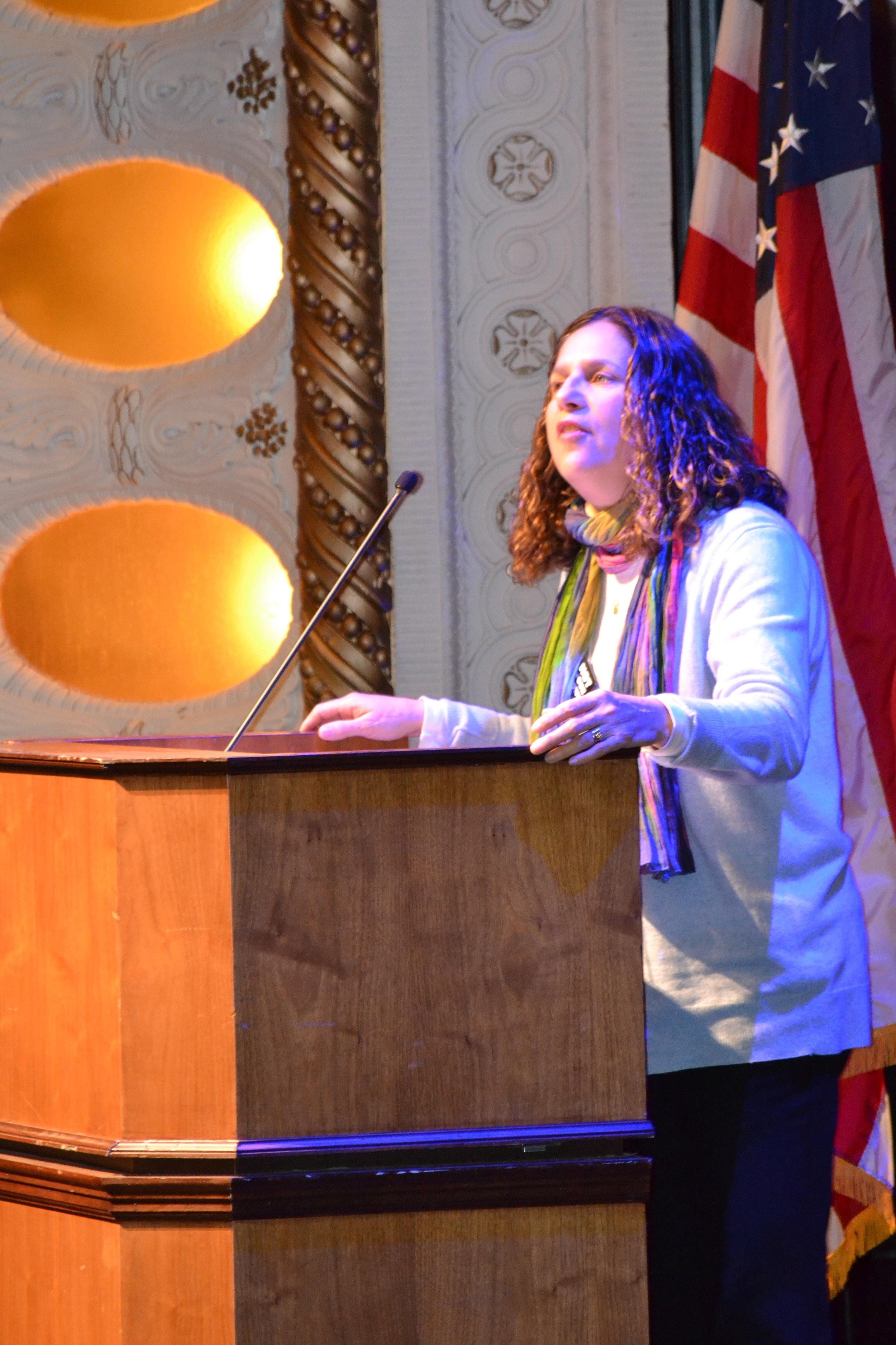 Rabbi Rebecca DuBowe, NIOTBN Faith and Outreach.