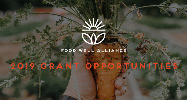 Do you work with local food?  Check out our 2019 grant opportunities.