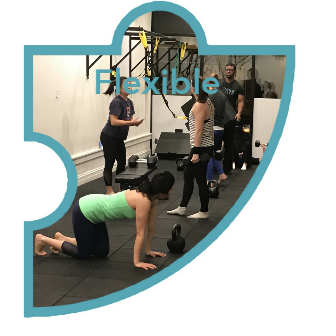 Flexible - We understand - exercise is not typically your top priority. Life has many demands which is why we provide the flexibility to execute your program when it fits your schedule.