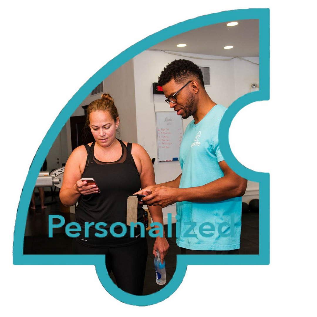 Your Personal Program - Customized to your goals, body, competence and mindset. We meet you where you are today and progress you efficiently towards a better future.