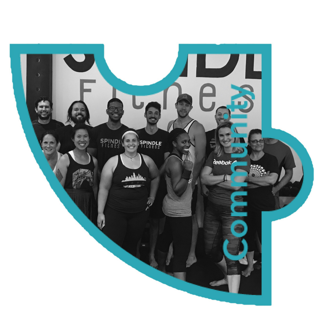 Community - We have created a community focused environment that values hard work, attention to detail and supporting each other. Be inspired and supported by other members as you work on yourself.