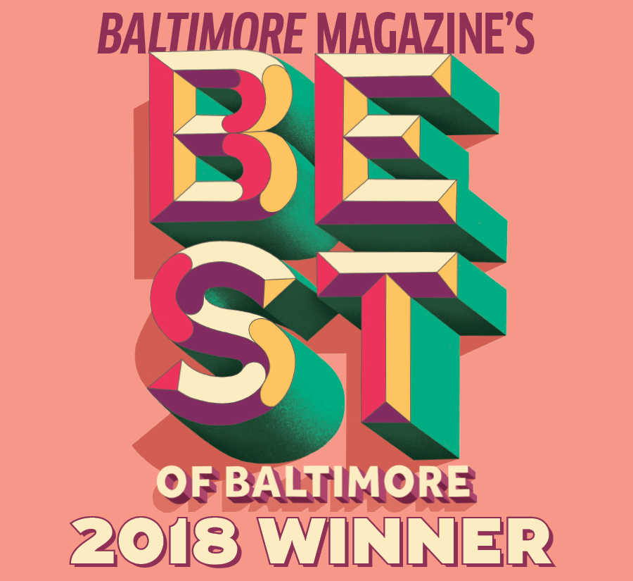 PLANTBAR wins best of Juice Bar for Baltimore Magazine's Best of Baltimore