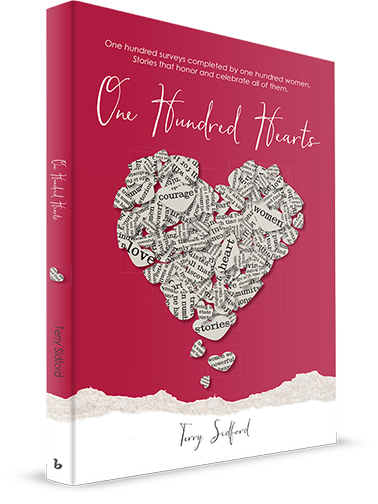 One Hundred Hearts Book by Terry Sidford