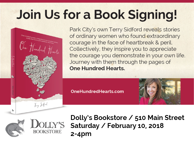 One Hundred Hearts Book Signing at Dolly's Bookstore