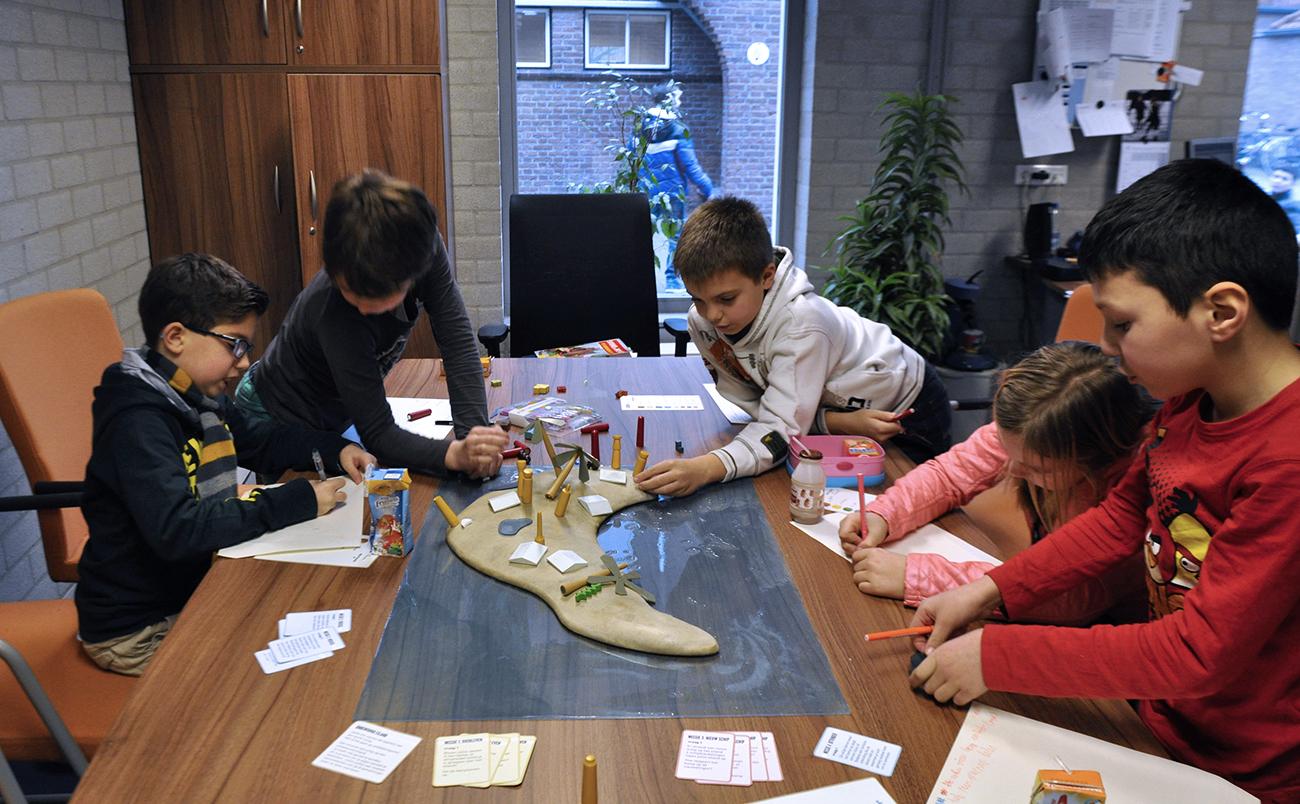 Ontwikkelsessies op basisschool de Opbouw, Eindhoven, 2013