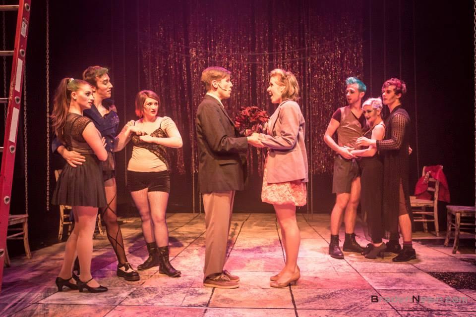 Rocky Horror Show (Brad Majors) Underscore Theatre [Photographed by Braden Nesin]