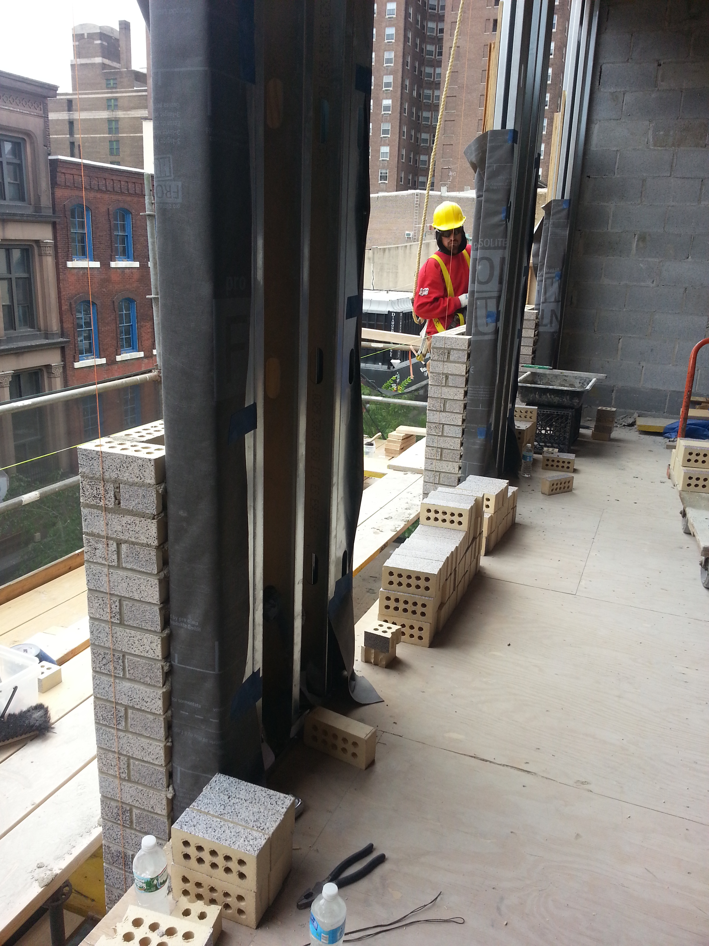 brick progress