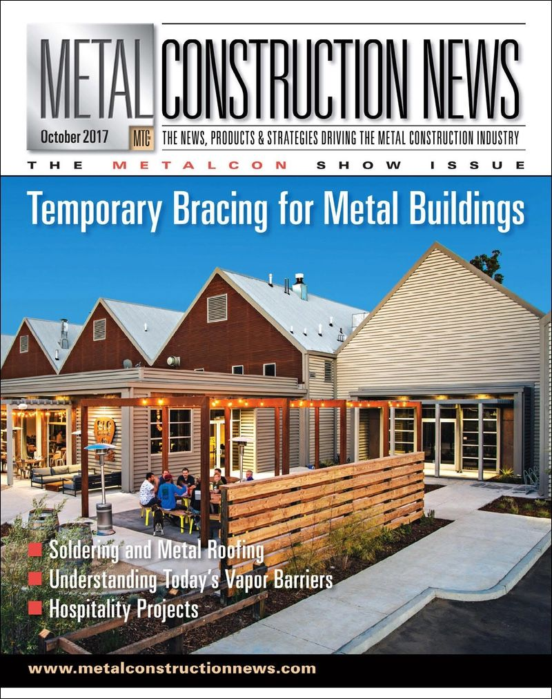 """Metal Construction News - Jackson Casino - """"Rua and Son Mechanical Inc. installed Advanced Architectural Products LLC's SMARTci insulation system With 3-inch GreenGirt Simple Z attachment members. GreenGirts helped create thermal breaks at Z-girt connections to the walls. In between the girts, Rua and Son Mechanical installed Roxul Inc's 3-inch-thick Cavityrock insulation…"""""""