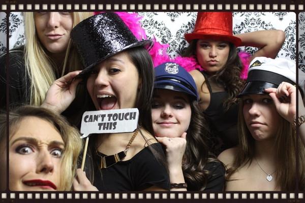 Girls Photo Booth