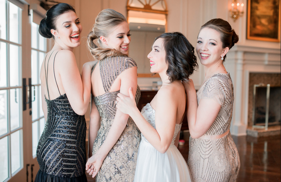 "Bridesmaid Styled Shoot - ""Utterly Engaged"""