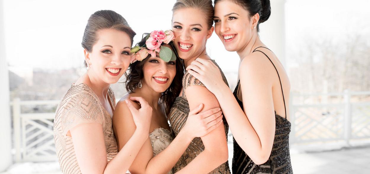 """Bridesmaid Styled Shoot - """"Utterly Engaged"""""""