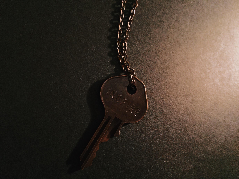 """Inspire"" Giving Key."