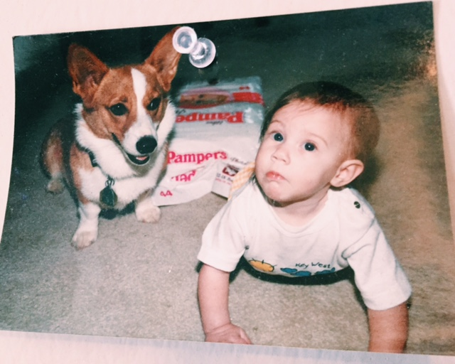 Abby and I in 1992