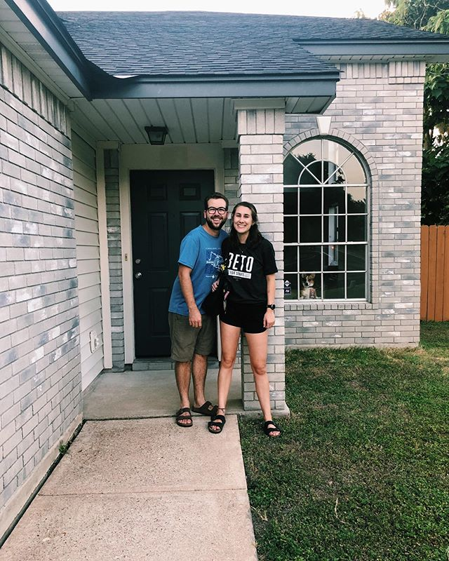 Full Send as South Austinites AND homeowners // peep that Maybie in the new window 😊