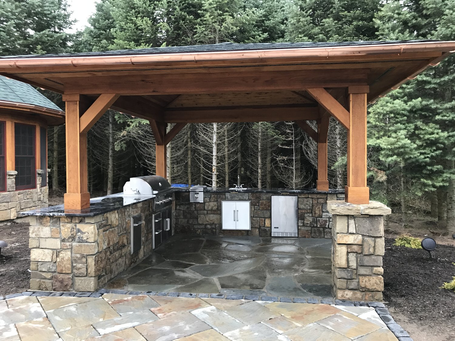 Outdoor Kitchens Syracuse Lightscapes Inc