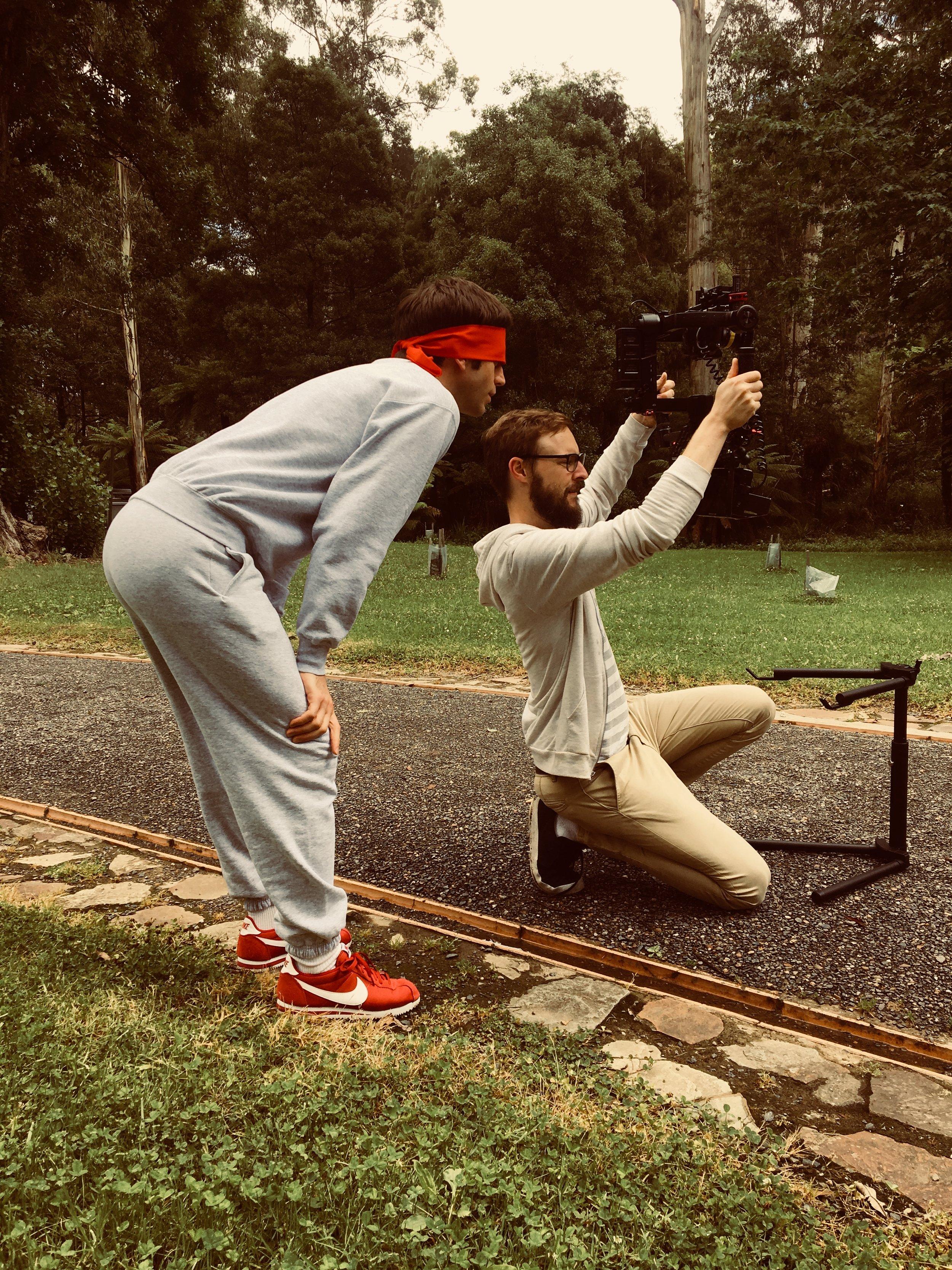 'Running' Video Exterior Shoot, 2017
