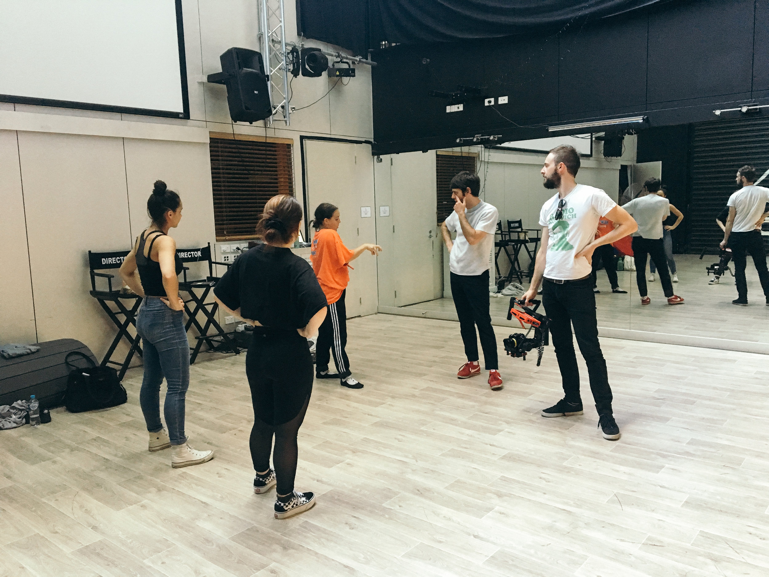 '1+1' Video Rehearsals, 2018