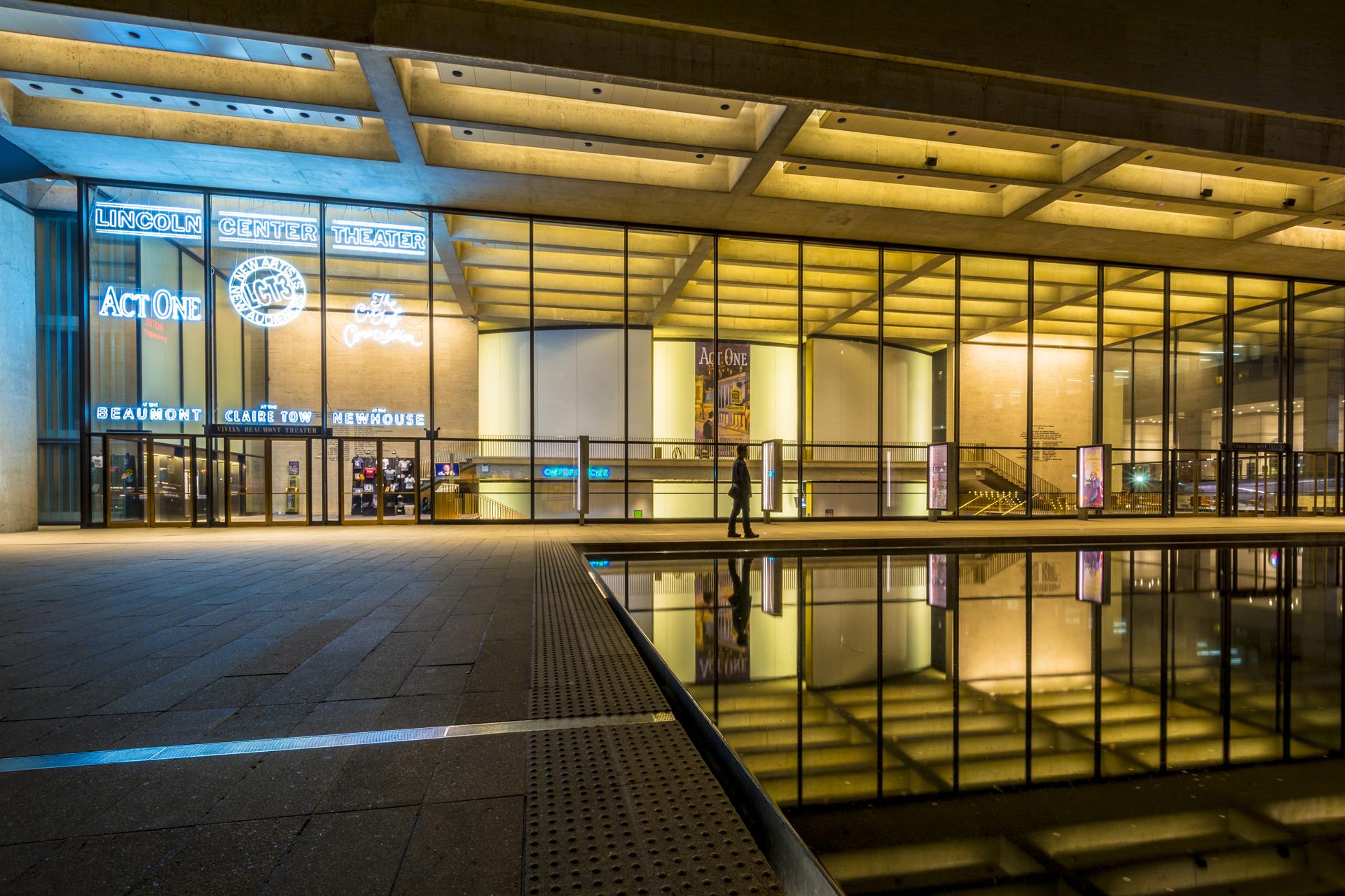 Lincoln Center Plaza Vivian Beaumont Theatre
