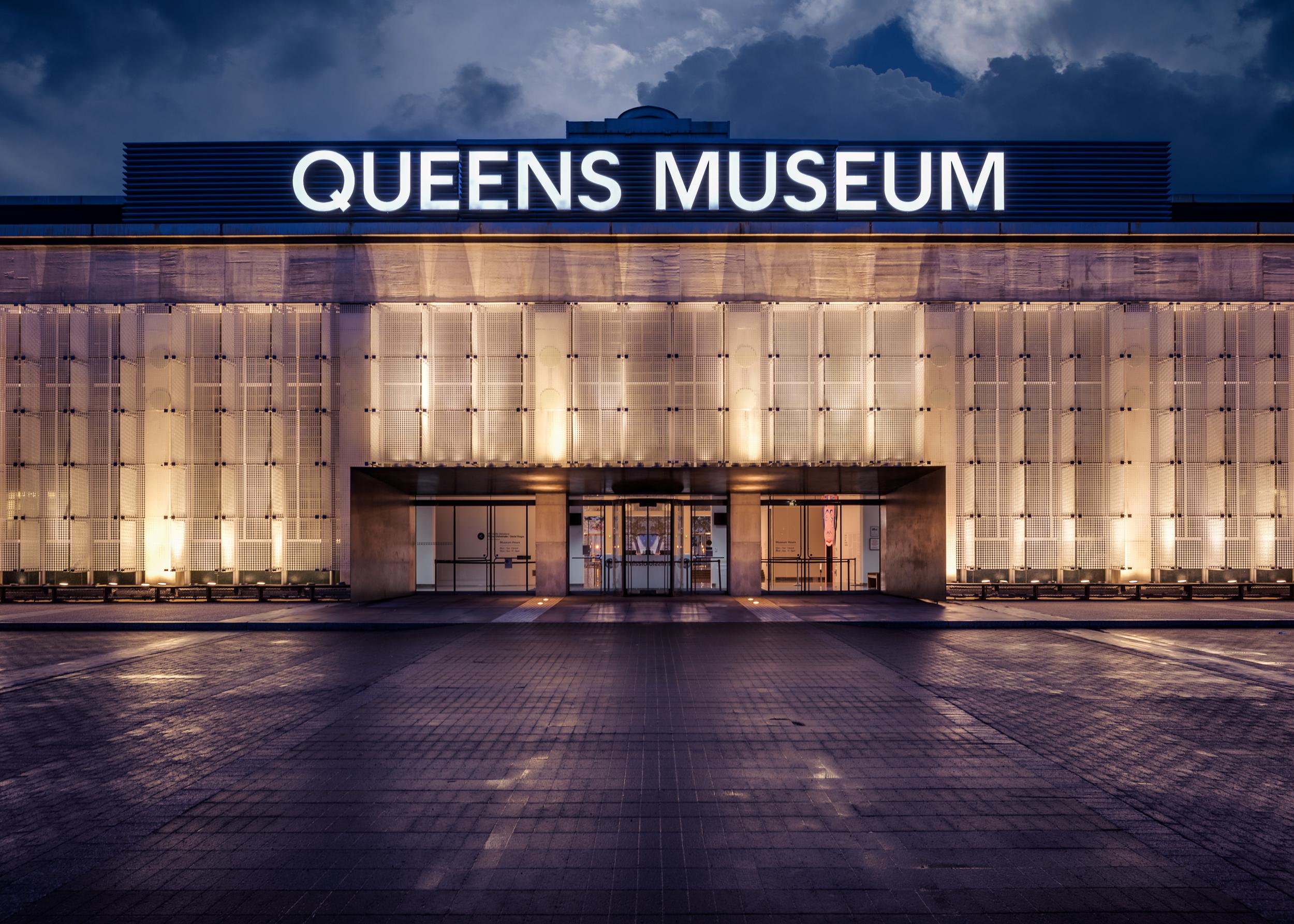 Queens Museum at Night