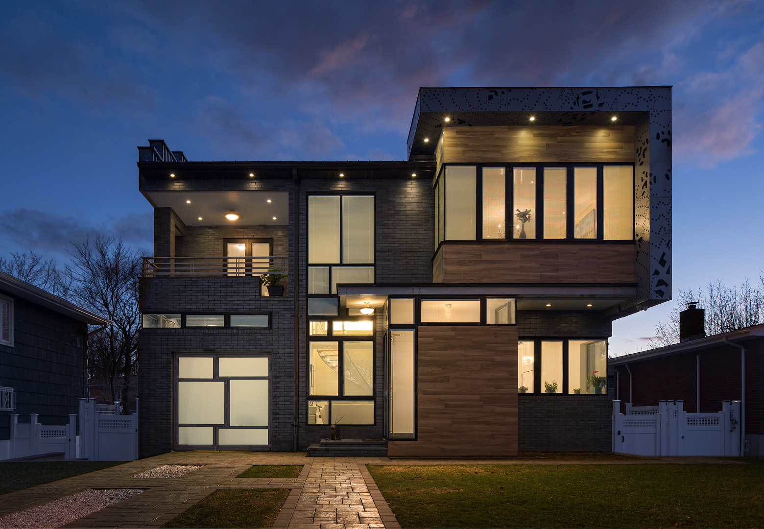Staten Island House Twilight