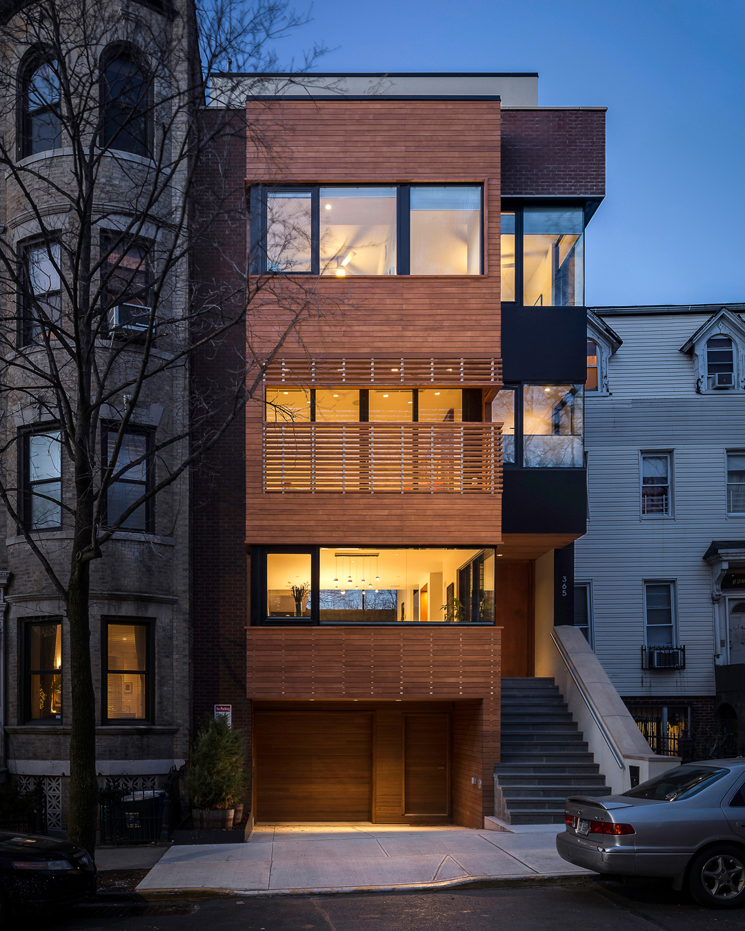 Park Slope Townhouse at Twilight