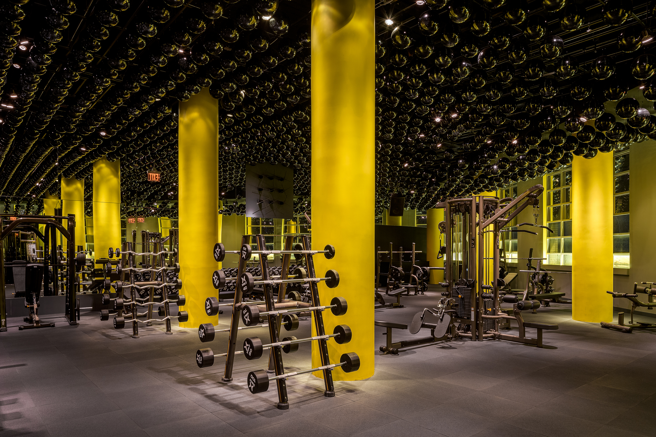 Commercial Architectural Photographer - TMPL Gym 2