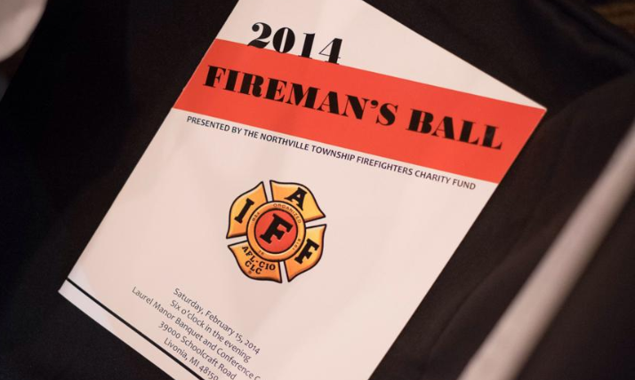 2014 Fireman's Ball Program on Chair.png