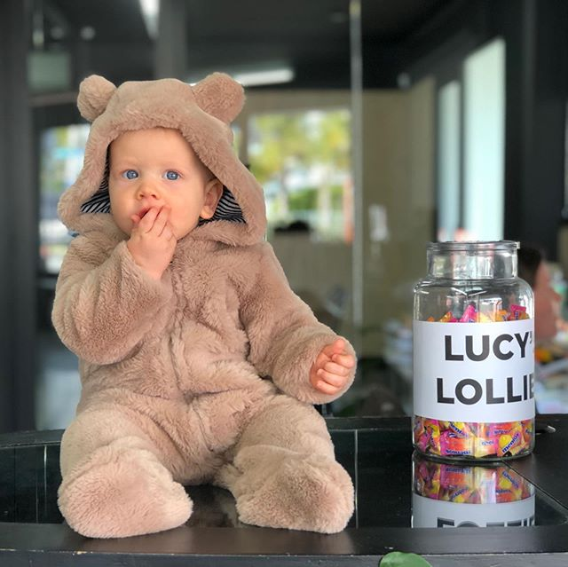 Oh no, someone got into Lucy's lollies 😬 🐻