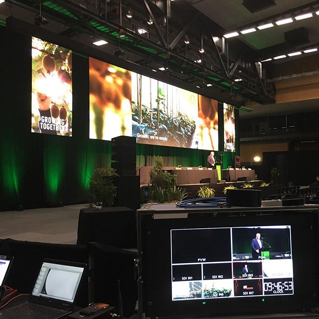 Behind the scenes sneak peek as Zespri prepare for their AGM!