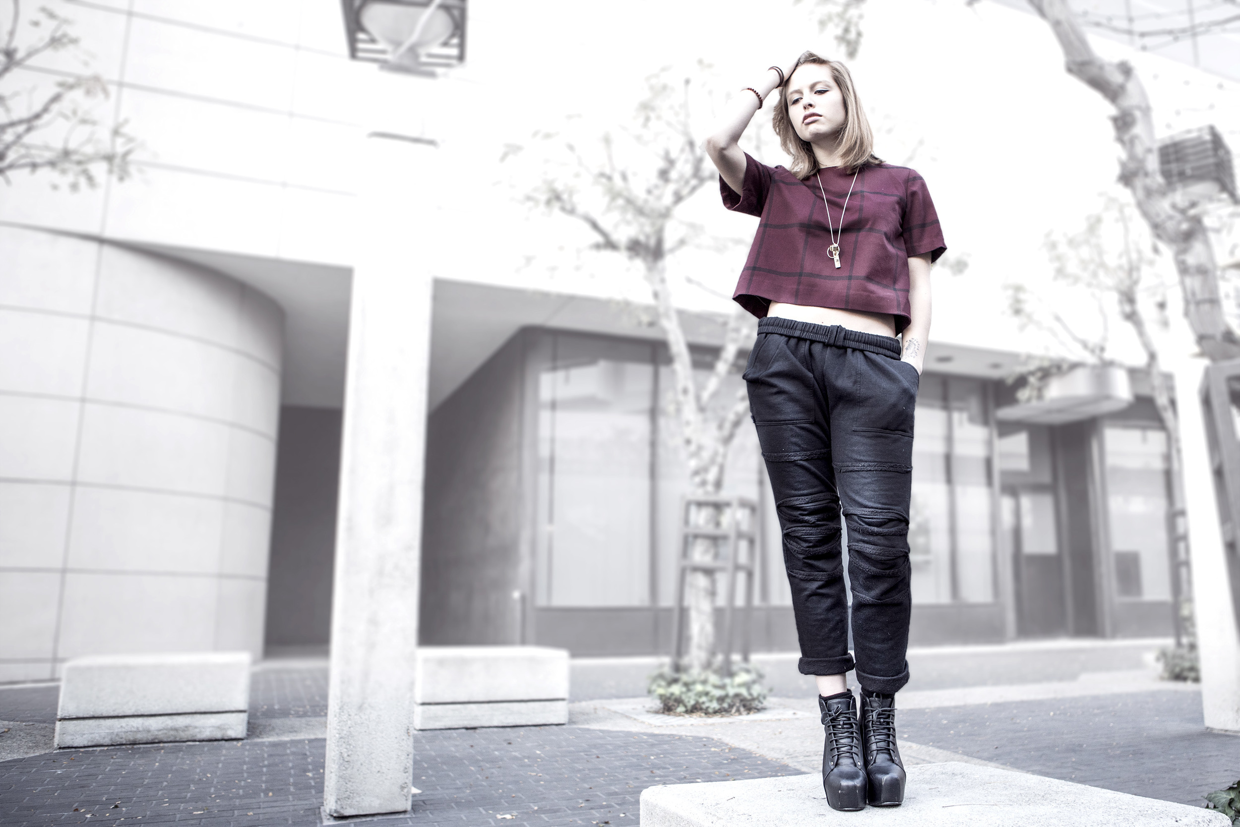 violet riot quest crew justfeng lookbook holiday editorial