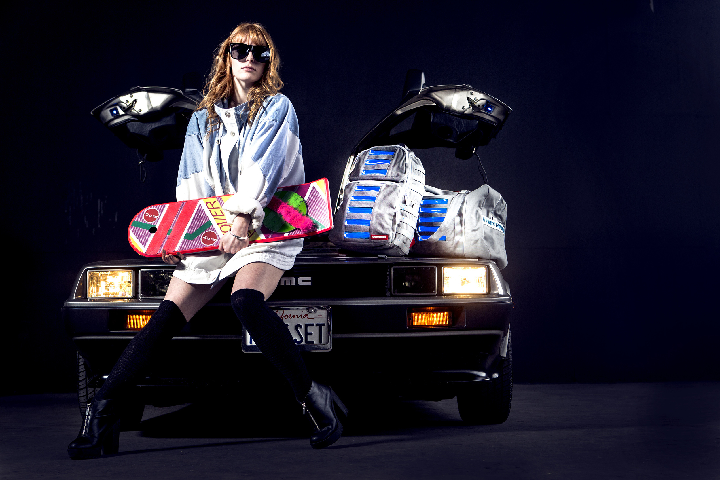 sprayground high snobiety smac justfeng photography editorial street dreams back to the future