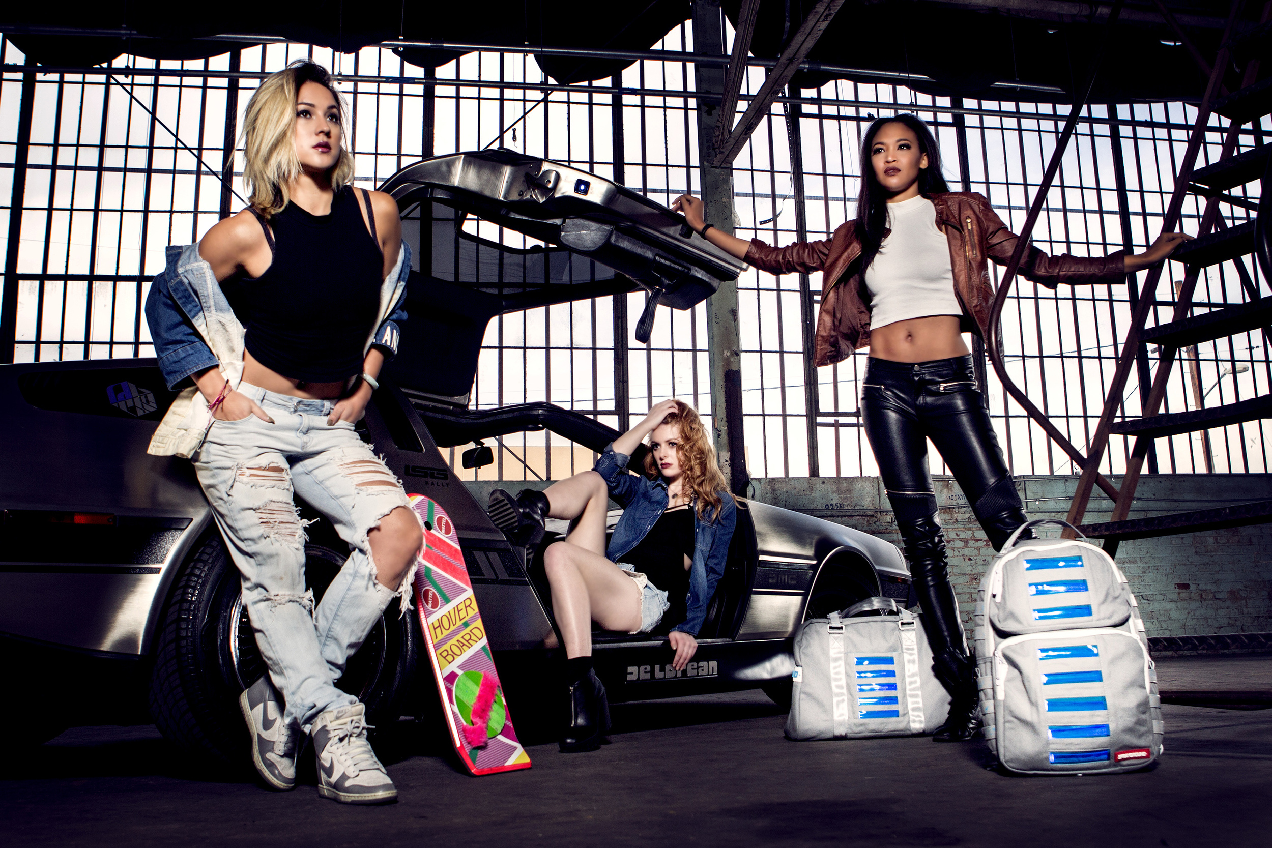 sprayground high snobiety shay maria justfeng photography editorial street dreams back to the future