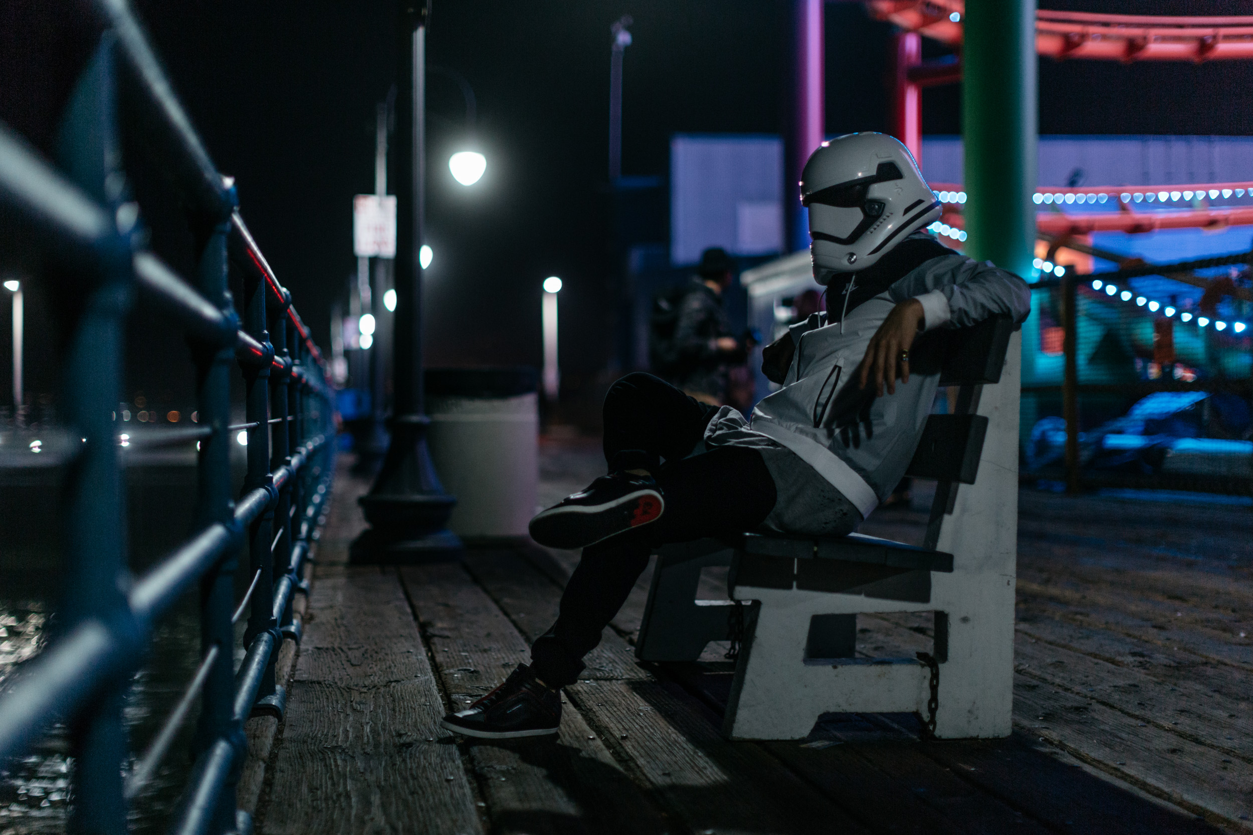 justfeng ryan feng vibrvncy star wars storm trooper santa monica photography jino abad abadimage