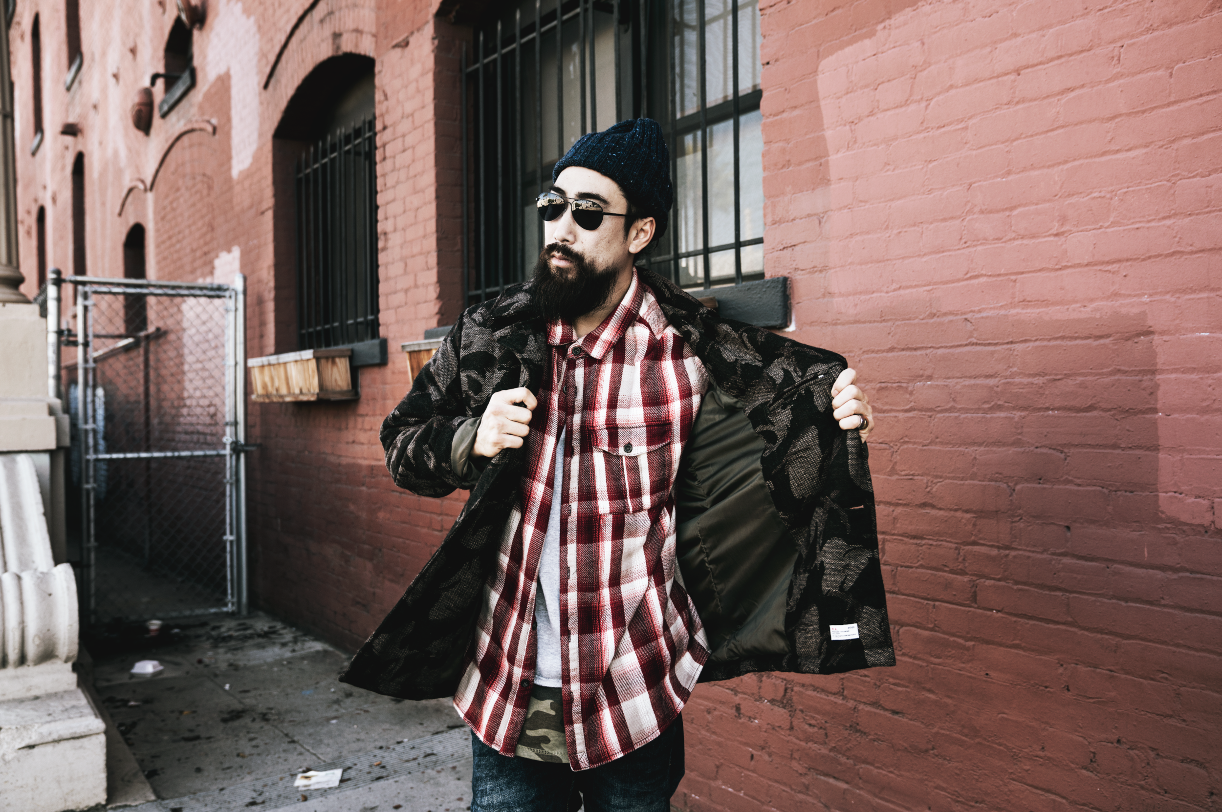 justfeng ryan feng quest crew fashion men style asian sexy  beard GQ street style