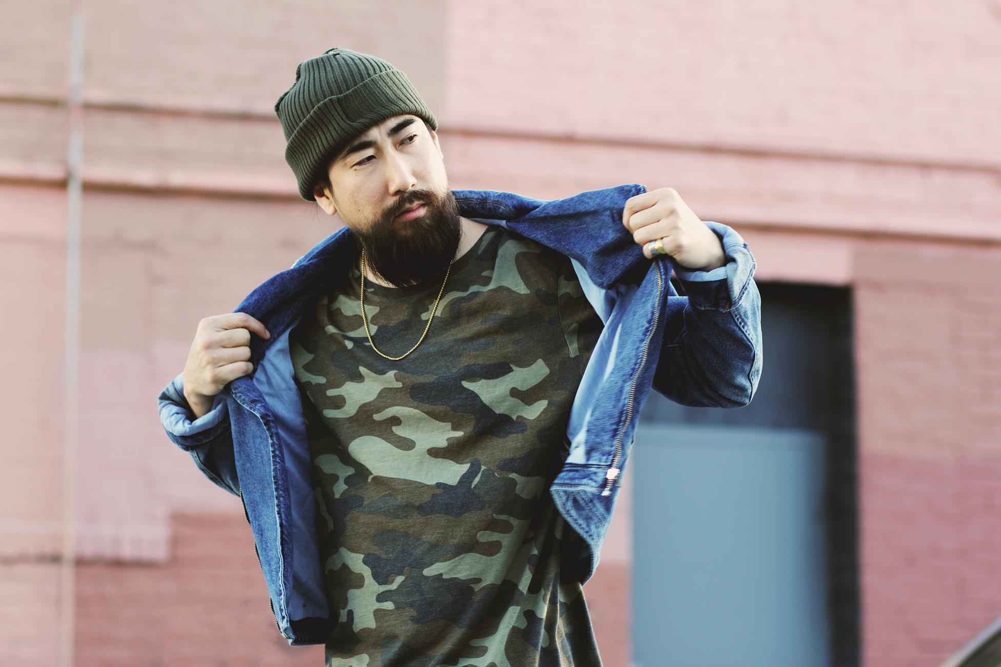 justfeng ryan feng ootdmen menstyle streestyle sexy asian beard