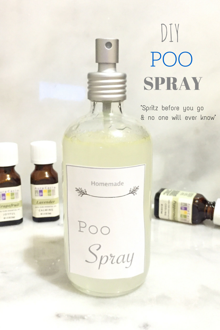 DIY poo spray