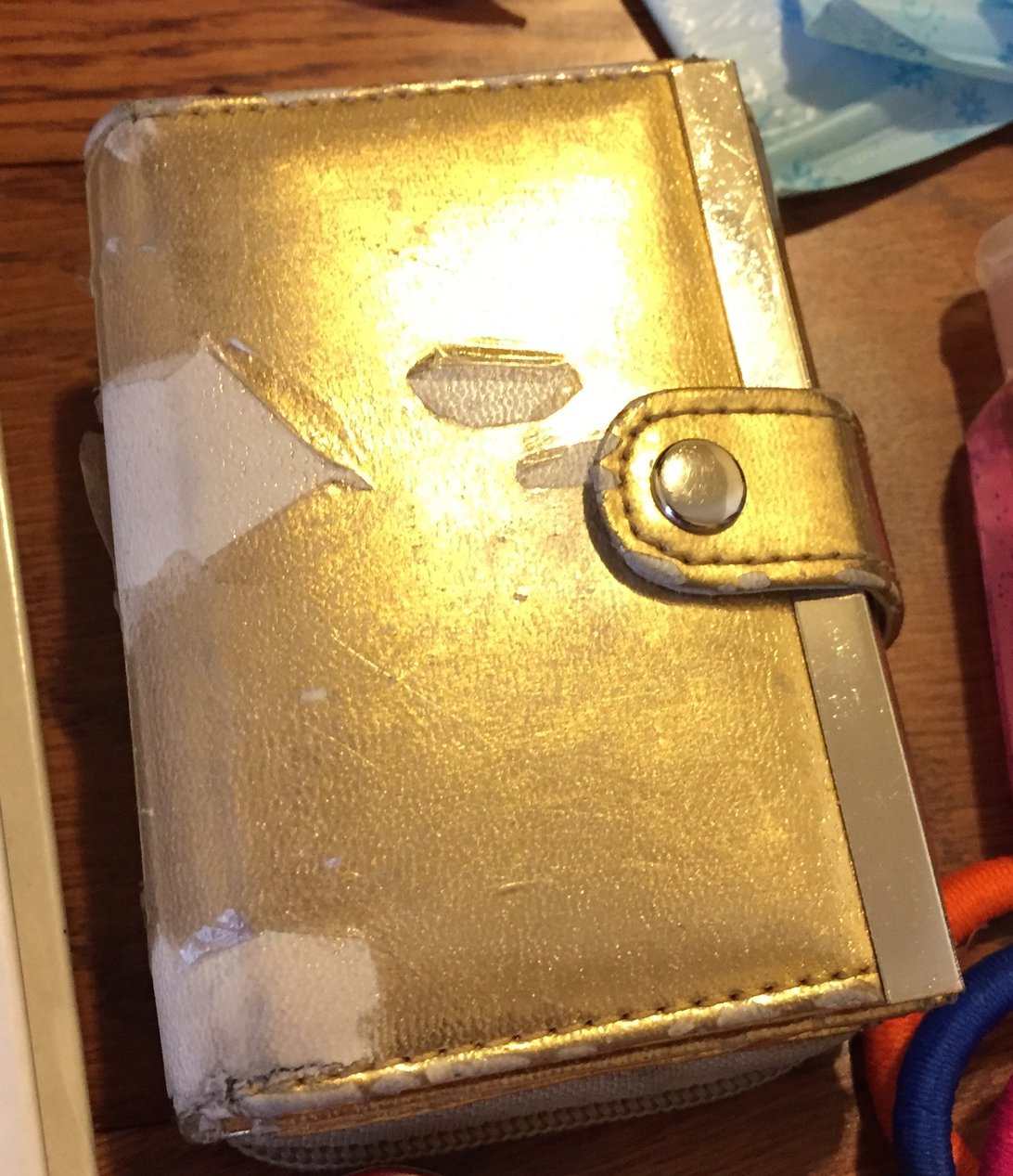 A wallet for carrying around smaller items