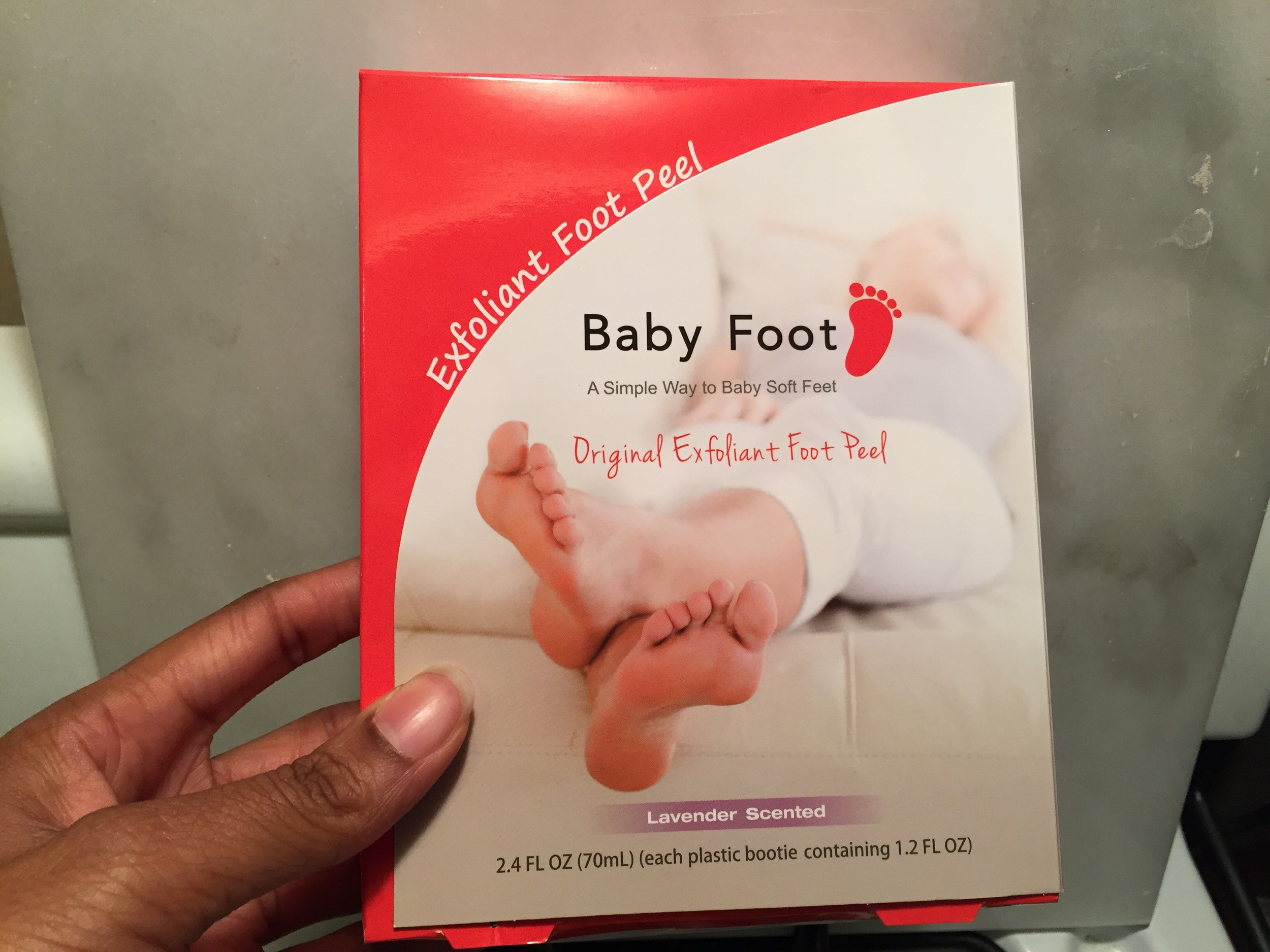 Baby Foot lavender scented foot peel