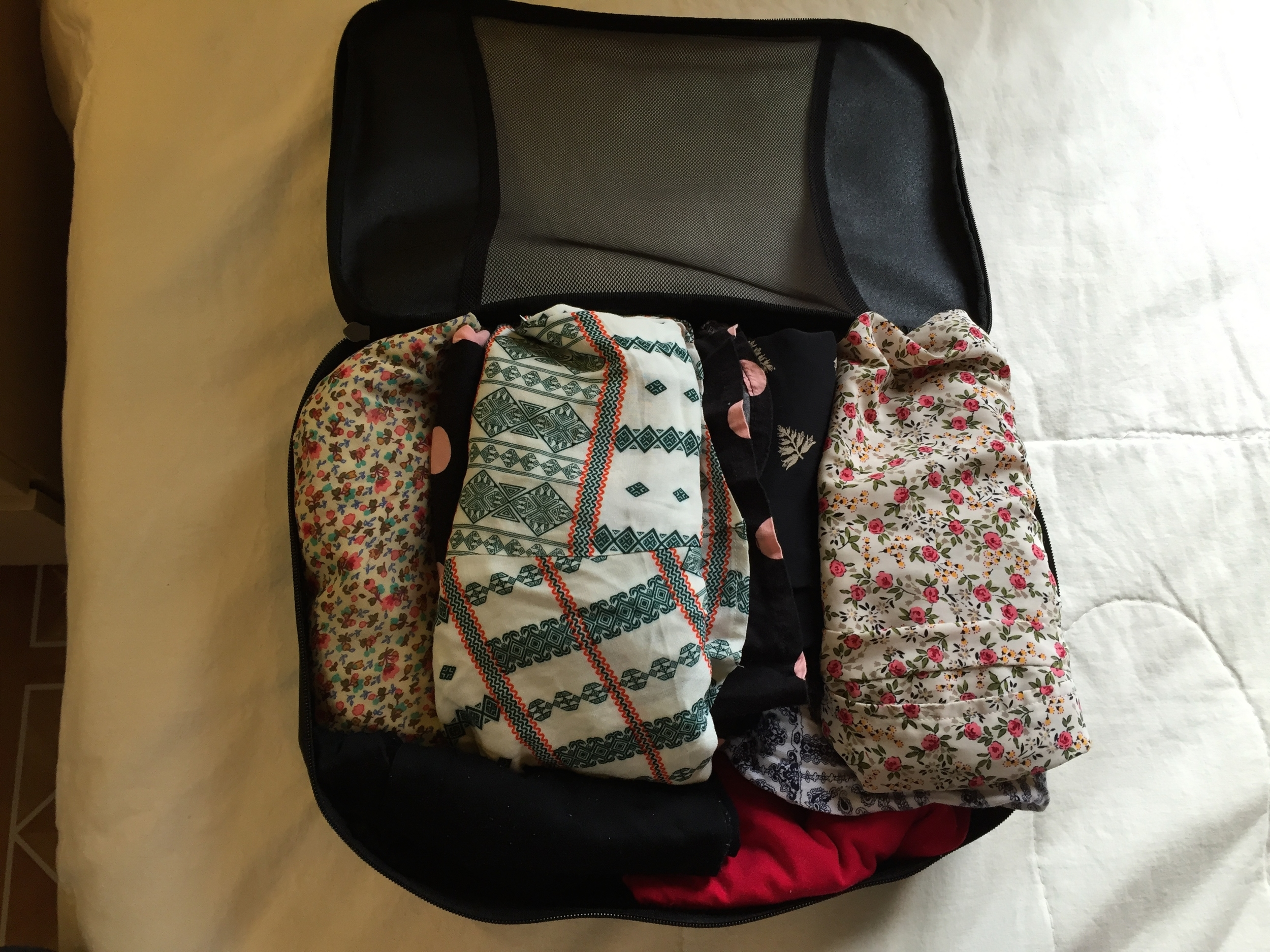 Packing A Checked Suitcase