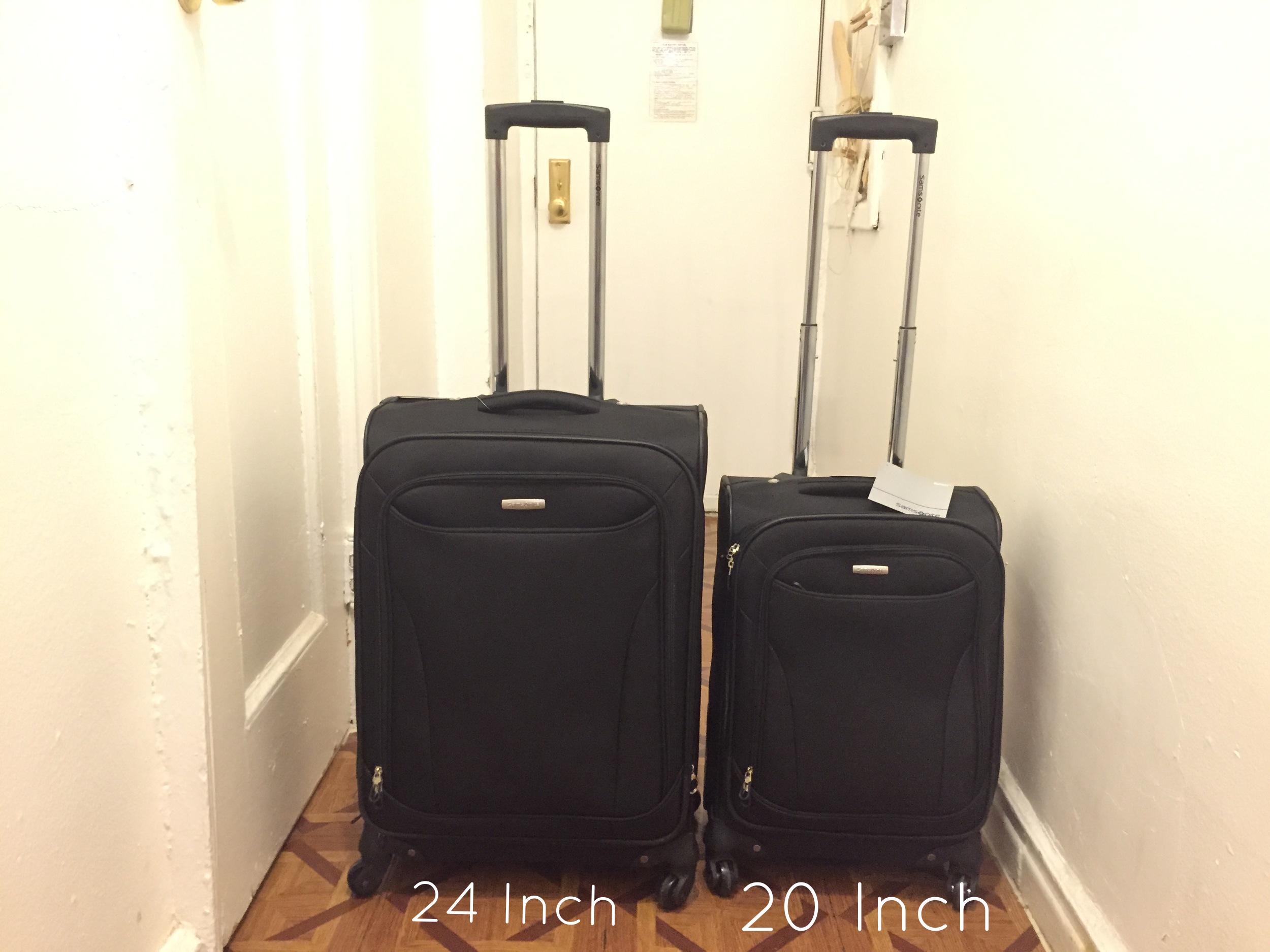 """Samsonite Bartlett 29'' Spinner   suitcase, 24"""" and 20"""""""