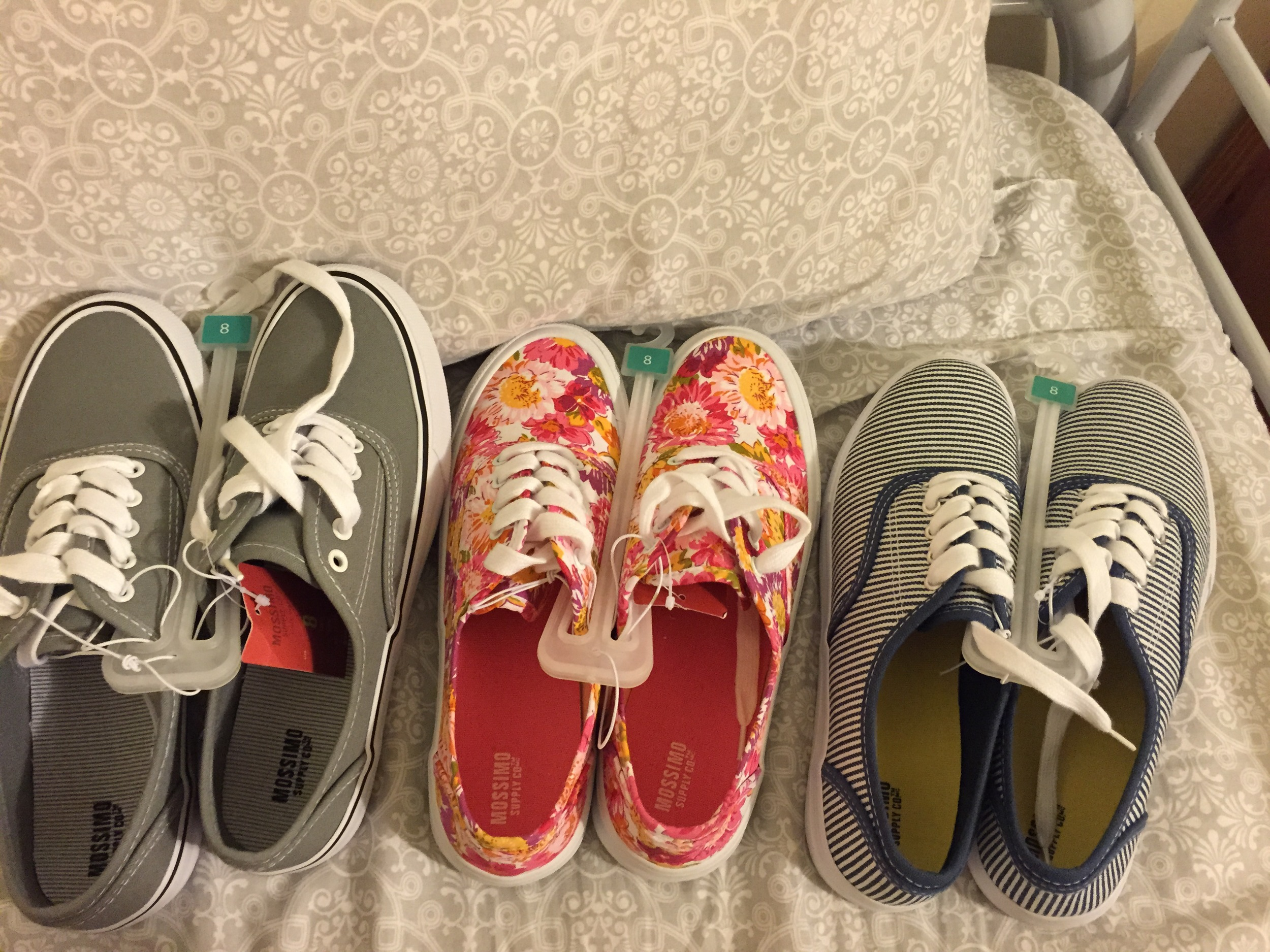 Shoes, ready to be packed