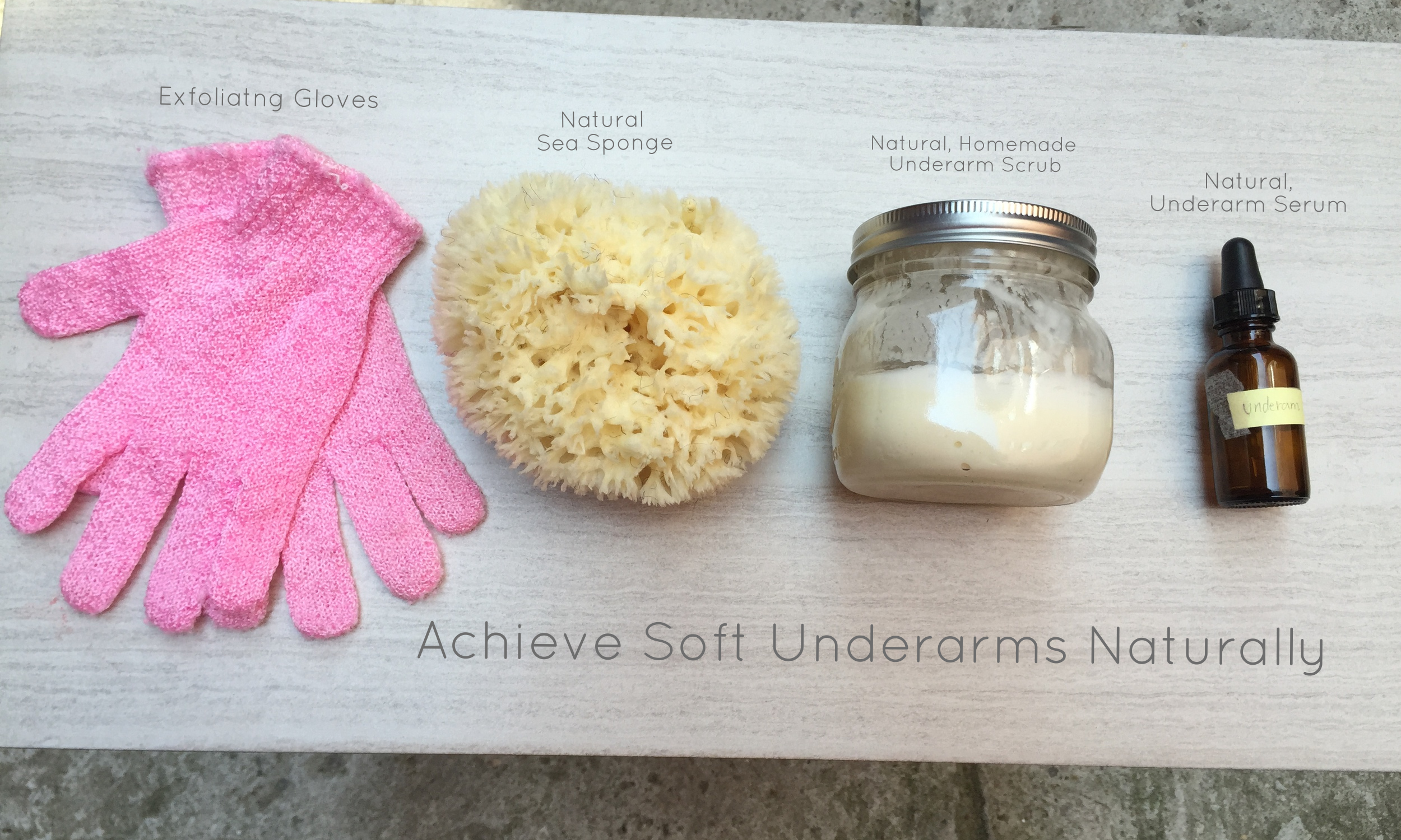 Ingredients for softer, smoother underarms