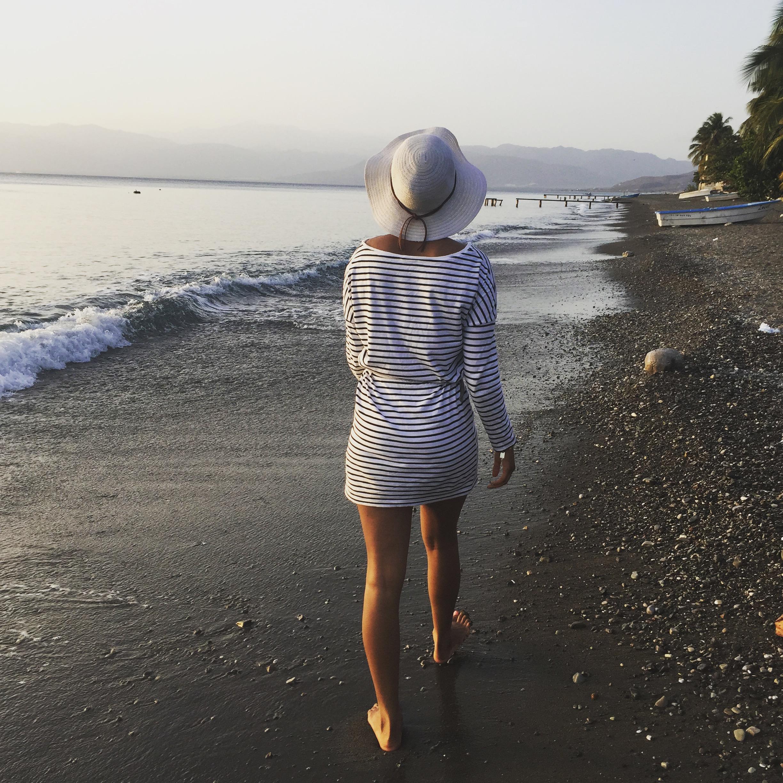 Me at the beach from Palmar De Ocoa